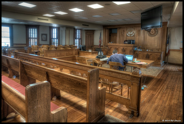 Courtroom, Wise County Courthouse