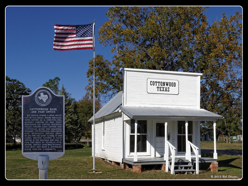 Old Cottonwood Bank and Post Office