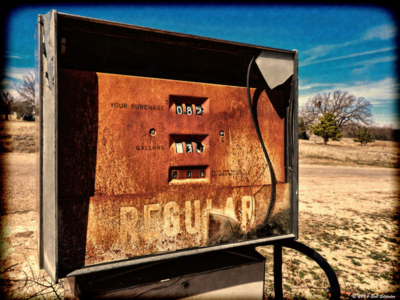 Old Gas Station Pump