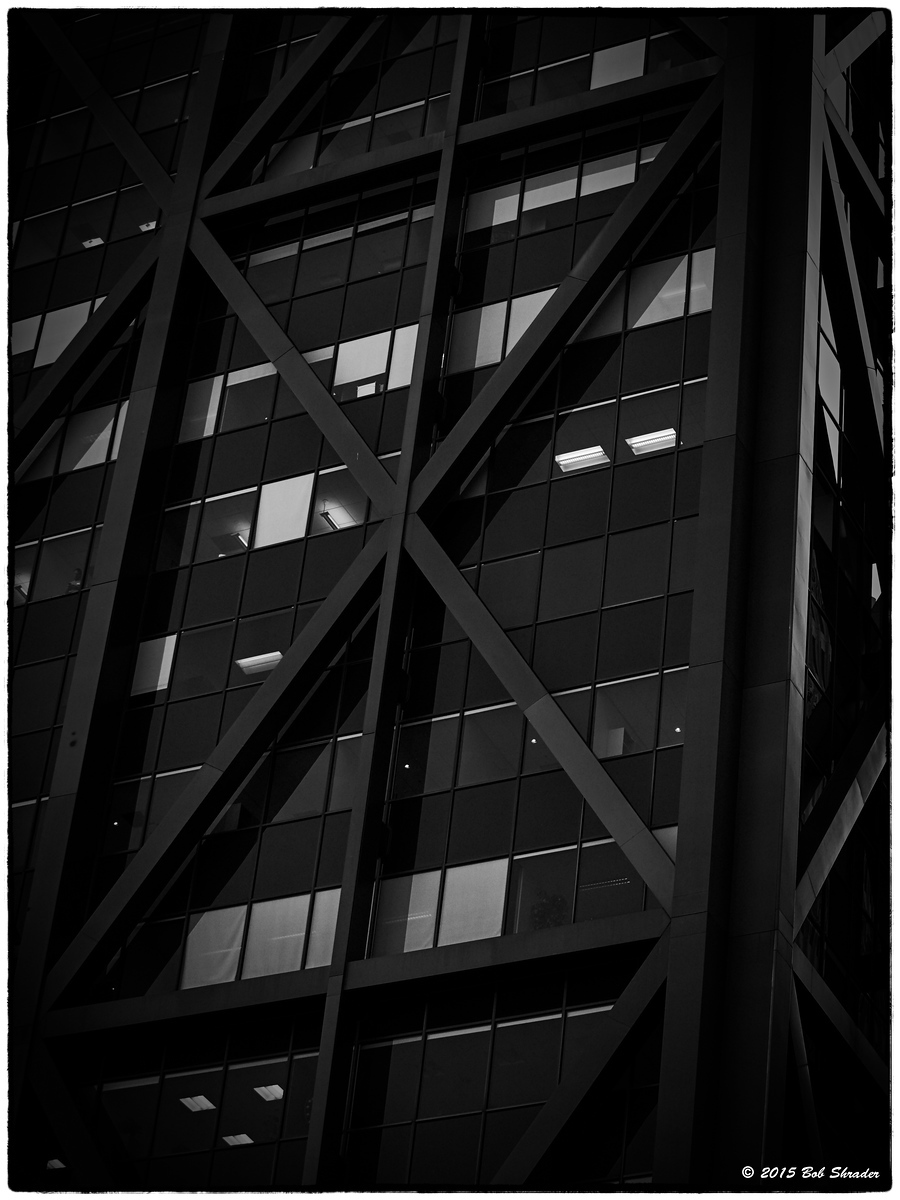 Architectural Restyle in B&W